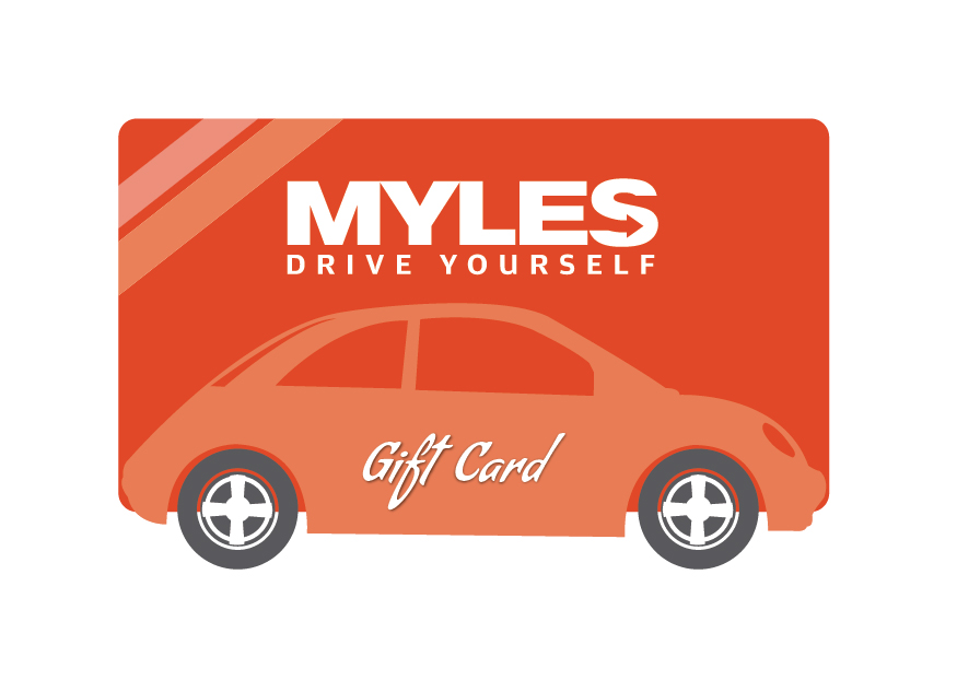 Mylescar travel gift card
