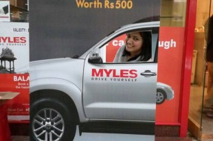 "Another reason to pose and say ""Myles"". Meet happy Mylers from Chennai."