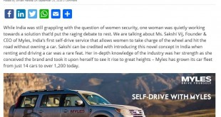 This startup is one of India's premier self-drive service –  knowstartup