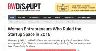 Women Entrepreneurs Who Ruled the Startup Space in 2016