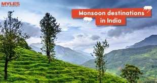Monsoon tourist destinations in India
