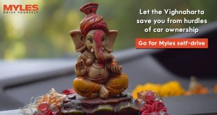 Move to self-drive car rentals with the Vighnaharta