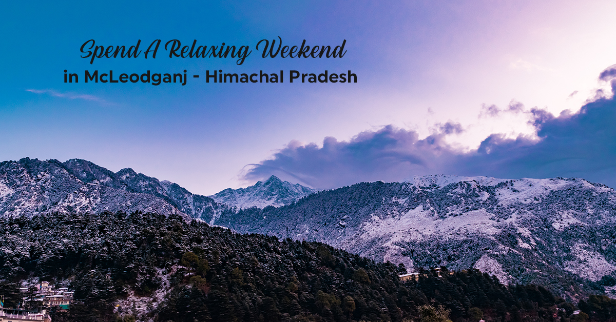mcleodganj Hill station in North India