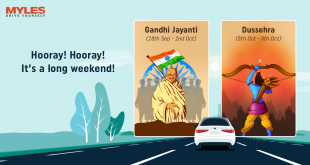 Hooray! Hooray! It's A Long Weekend Again – Let's Go Tripping On Gandhi Jayanti & Dussehra Long Weekend In 2019