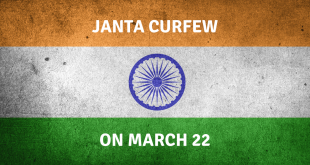 To Travel Is To Live But First Let's Live – Janta Curfew On March 22 In India