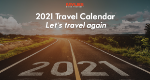 2021 Travel Calendar: Let's travel again